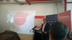 Philip Dalidakis, the Minister of Innovation and Small Business announces $60 million LaunchVic fund