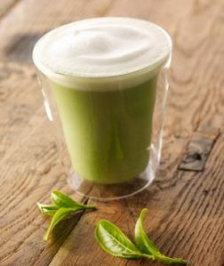Green Tea Latte (image thanks to Starbucks - yes, believe it or not, even Starbucks has these)