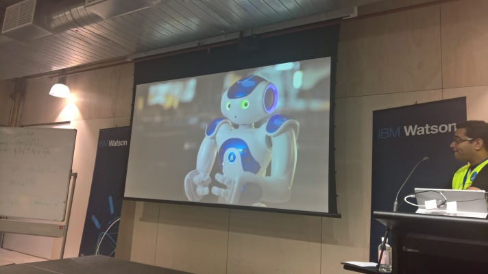 Connie, the first AI concierge. Connie uses Watson to answer questions but also to add emotion and empathy to the system (currently live in some Hilton Hotels)