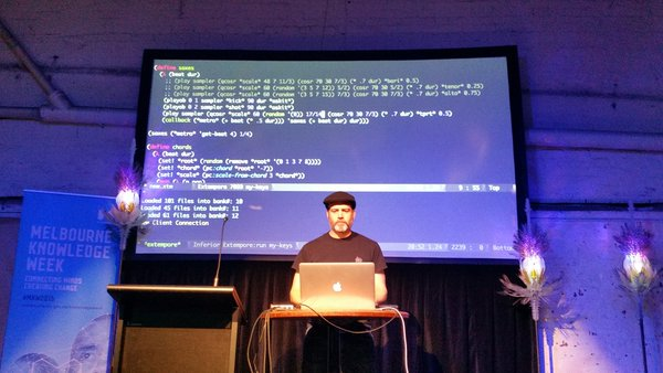 Live coding in C and C#.