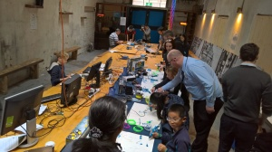The chapel at 1000 Pound Bend is transformed into a Makerspace!