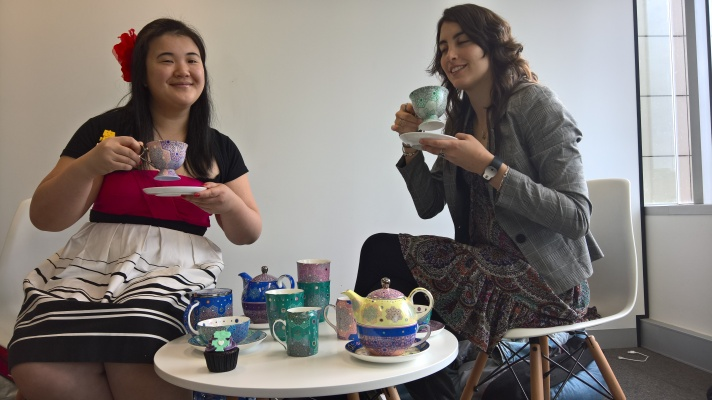 It's a hackathon tea party