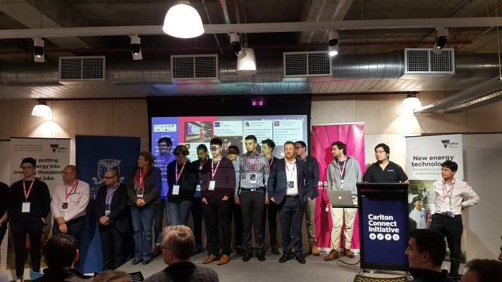 So. Many. Mentors From all areas of expertise & industries. We couldn't even fit them all on the stage!