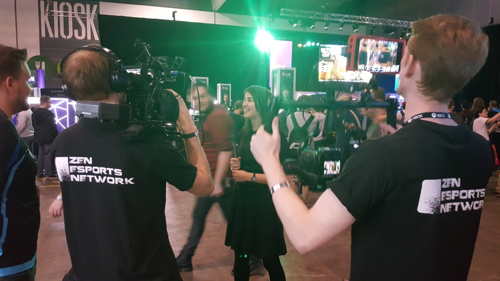 PAX Australia 2016 and I'm on camera.