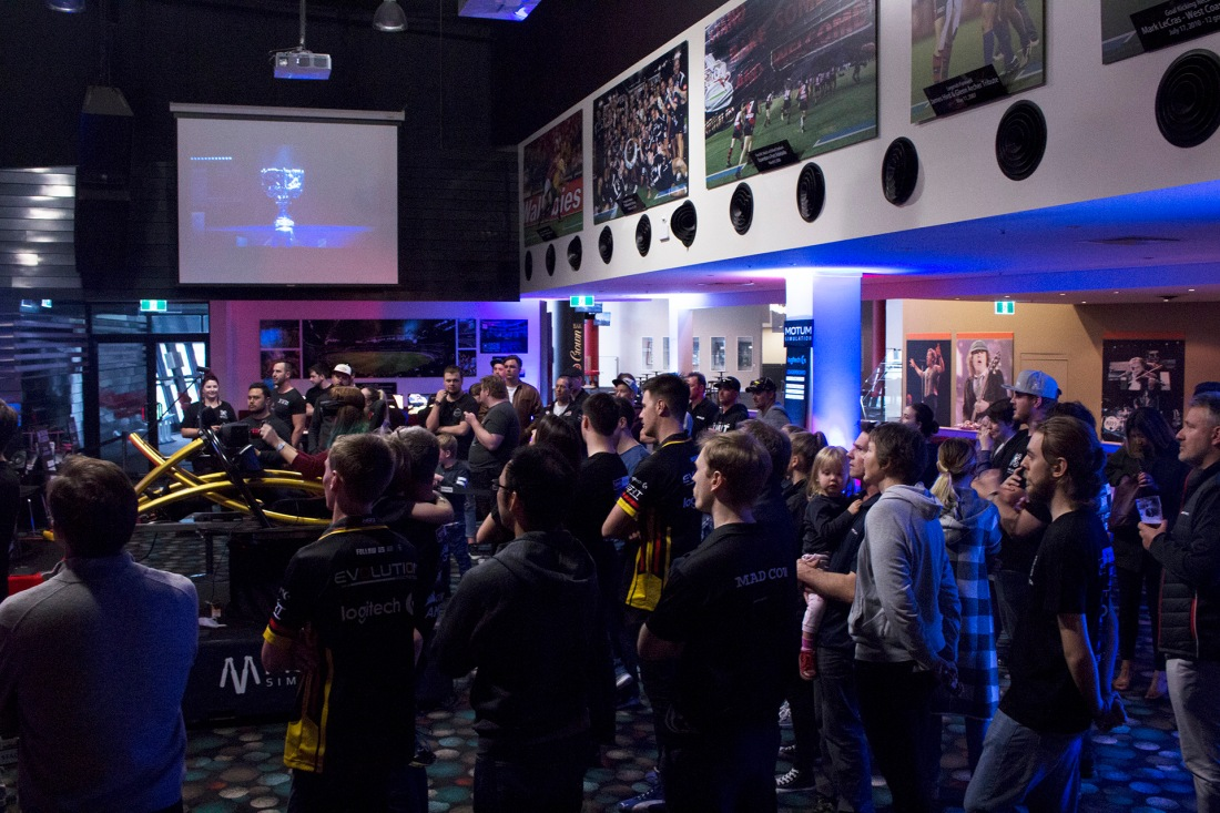 The Crowd looks on in a packed Etihad Stadium as the finals of the VSR Showdown come to a close.jpg